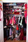 Closet in Child's Bedroom