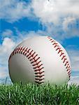 Nahaufnahme des Baseball