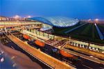 The Transportation Center at the Beijing Capital International Airport, Beijing, China