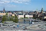 Slussen et Stadsholmen, Gamla Stan, Stockholm, Suède