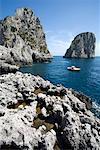 Faraglioni, golfe de Naples, Capri, Naples, Campanie, Italie