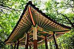 Gazebo in Garden of Changdeokgung, Seoul, South Korea