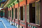 Windows of Palace, Changdeokgung, Seoul, South Korea