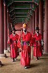 Changing of the Guard, Gyeongbok Palace, Seoul, South Korea