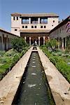 Palacio de Generalife, Alhambra, Granada, Spain