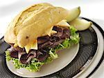 Sandwich de viande bovine