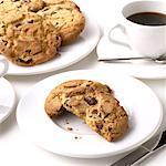 Easter chocolate cookies
