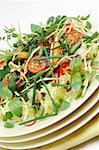 Gemischter Salat mit Soja-dressing