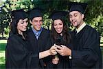 College Graduates with Cellular Phones