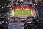 Aerial View of BMO Field, Toronto, Ontario, Canada