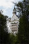 Château de Neuschwanstein en Bavière, Allemagne