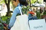 Woman Shopping at Organic Farmer's Market
