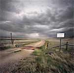 Cattle Guard, Sand Hills, Whitman, Nebraska, USA