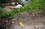 Leiche am Tatort, Toronto, Ontario, Kanada