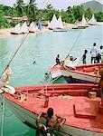 Grenada, the Grenadines, Carriacou island, the carnival regata