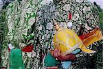 Robe de festival de Thaïlande, Bangkok, pour un rameur sur une barge royale
