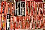 China, Xinjiang, kashgar, traditional Uyghur knifes