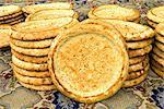 China, Xinjiang, traditional Uyghur breads