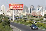 China, Xinjiang, Urumqi, urban landscape