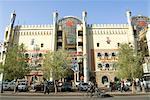 China, Xinjiang, Urumqi, commercial center, facade