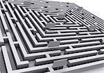 Digital creation: labyrinth