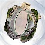 Digital creation: Paris, canal Saint-Martin
