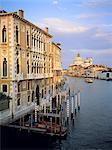 Italie, Venise, Grand canal et la basilique Salute