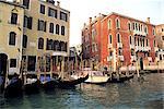 Habitation traditionnelle d'Italie, Venise,