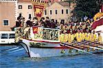 Italie, Venise, la regata storica