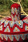 "Ethiopia, Bahar Dar, market, handicrafts, ""mesob"""