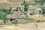 Éthiopie, région du Wollo, village d'Amhara