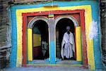 Éthiopie, région du Tigré, monastère de l'église de Michael Imba