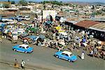 Vue générale de Harar, l'Éthiopie, de la ville