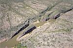 Australie, Northern Territory, près de katherine, le parc national Nitmiluk, gorges de la katherine, photographie aérienne