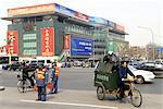 China, Beijing, downtown traffic