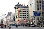 China, Beijing, Wangfujing street, stores