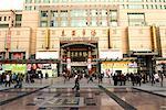 China, Beijing, Wangfujing street, commercial center
