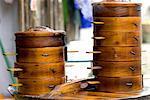 China, Guizhou, Miao village of Datang, steam cook