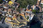 Portugal, Madeira, Funchal, vue aérienne