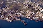 Vue aérienne de Portugal, Madeira, Funchal