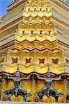 Thailand, Bangkok, Wat Phra Keo temple, emerald buddha temple