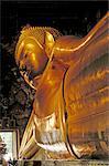 Thaïlande, Bangkok, temple de Wat Po, Bouddha couché