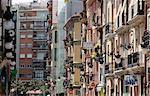 Spain, Valencia, facades