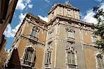 Spain, Valencia, museo de la ceramica (ceramics museum), facade