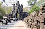 Cambodia, Angkor Thom, the bayon.