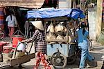 Vietnam, Hoi An, itinerant seller.