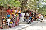 Vietnam, Hoi An, souvenirs shop, lanterns.