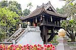 Pagode au pilier un Vietnam, Hanoi.
