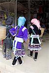 Vietnam, road to Sappa, Hmong woman.