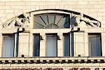 Russia, St Petersburg, Nevsky Prospekt, facade.